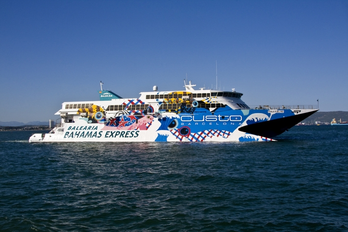 Bahamas Express Fast Ferry Service To Bimini Browns Marina In - Bimini superfast cruise ship